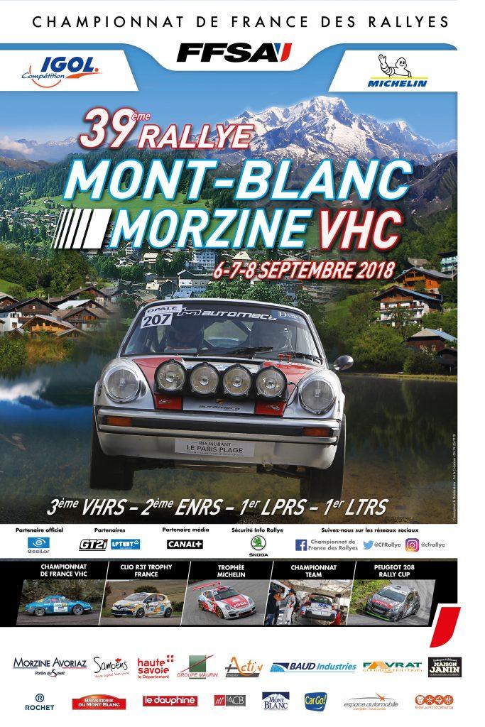 AFFICHE MONT-BLANC MORZINE VHC 2018-01