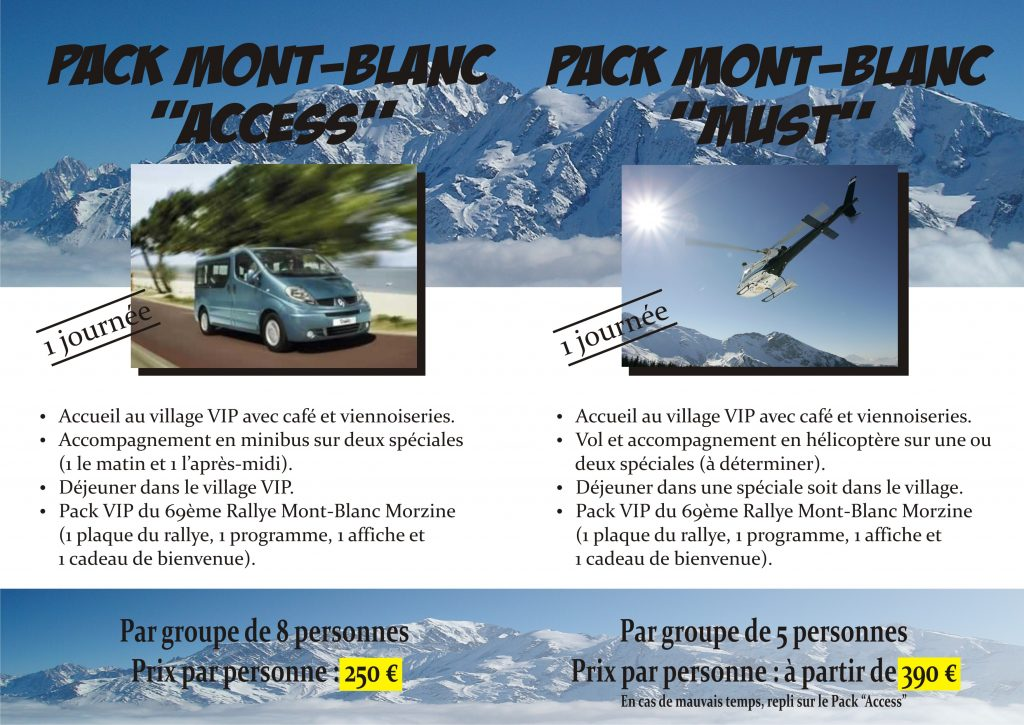 Flyer Pack VIP verso